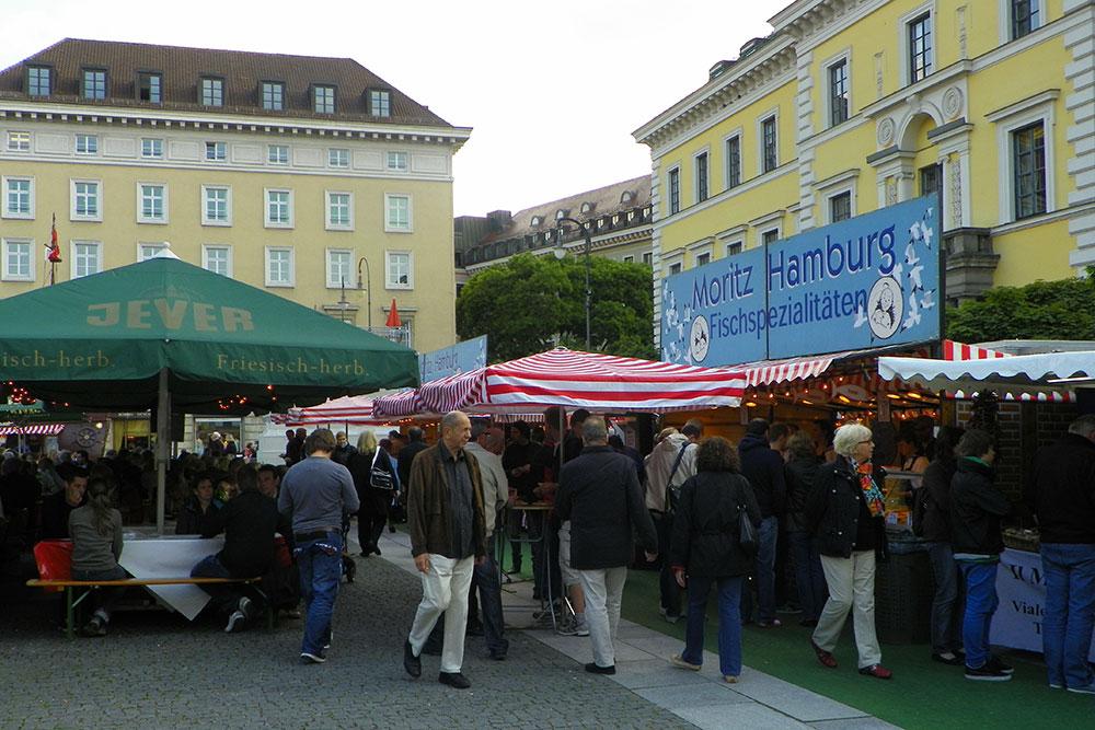 Hamburger Fischmarkt München 2018