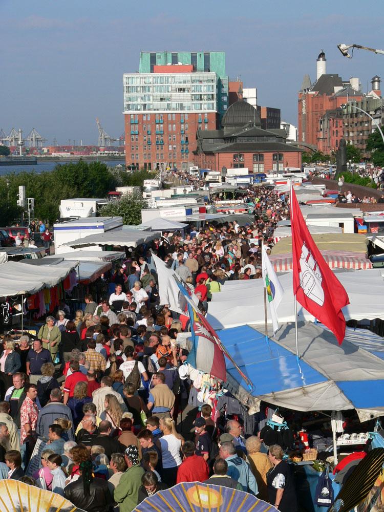 Hamburger fischmarkt for Am fischmarkt