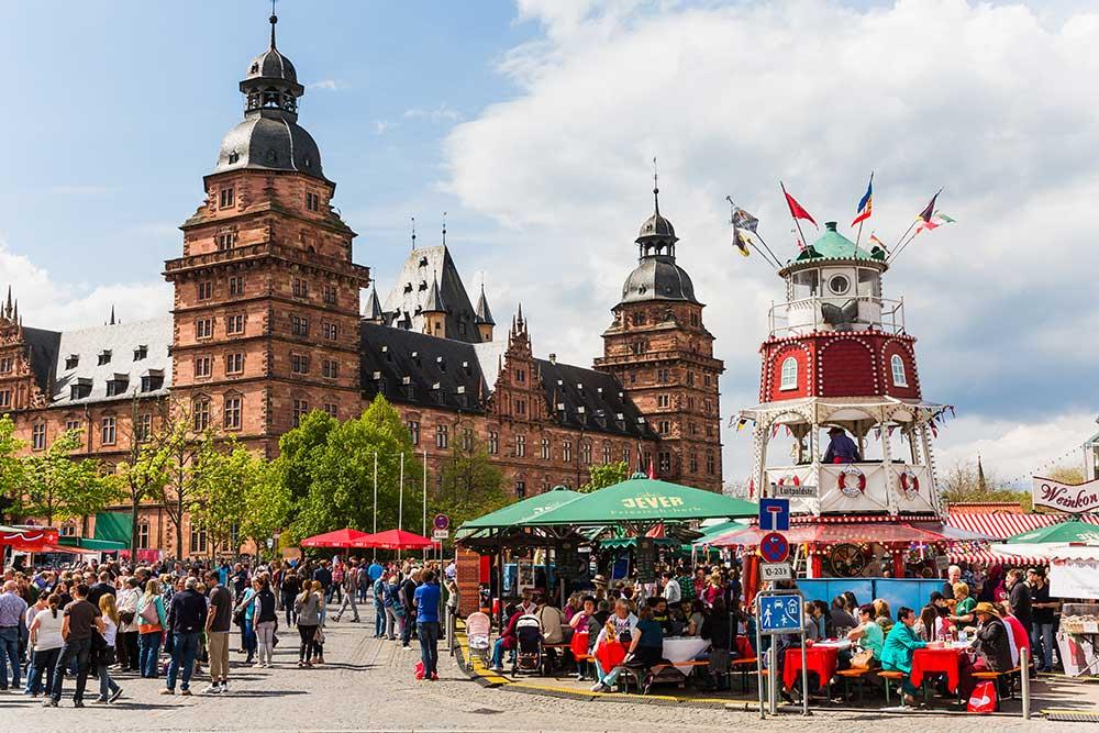 Hamburger Fischmarkt auf Reisen in Aschaffenburg