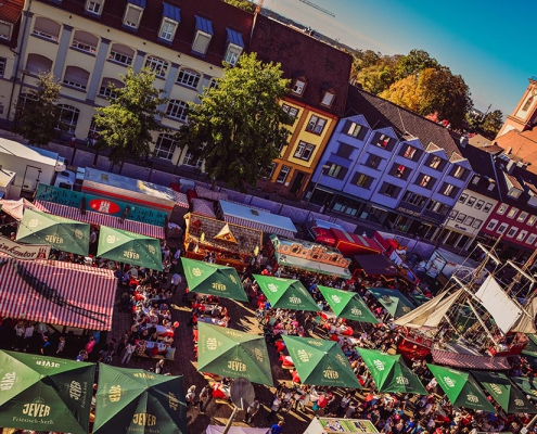 Hamburger Fischmarkt in Offenburg, Foto: Kevin Zurlinden