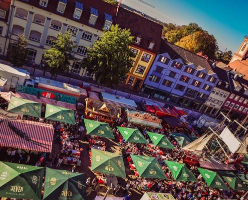 Hamburger Fischmarkt in Offenburg, Foto: Kevin Zurlinden
